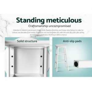 BA-G-7033-WHX2: Makeup Chairs & Stools. The Makeup Mirror Co. | AfterPay Today | Free Shipping