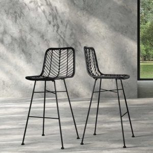 BA-H-3923-BKX2: Makeup Chairs & Stools. The Makeup Mirror Co. | AfterPay Today | Free Shipping