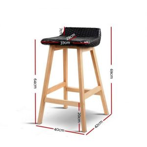BA-I-3023-BKX2: Makeup Chairs & Stools. The Makeup Mirror Co.   AfterPay Today   Free Shipping