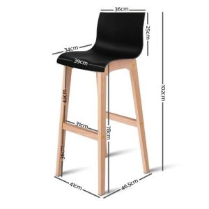 BA-I-3608-BKX2: Makeup Chairs & Stools. The Makeup Mirror Co.   AfterPay Today   Free Shipping