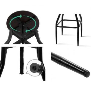 BA-J-4056-BRX2: Makeup Chairs & Stools. The Makeup Mirror Co. | AfterPay Today | Free Shipping