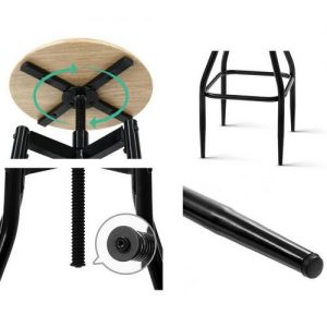 BA-J-4056-NTX2: Makeup Chairs & Stools. The Makeup Mirror Co.   AfterPay Today   Free Shipping