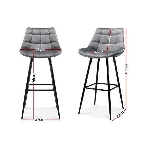 BA-K-0222-GYX2: Makeup Chairs & Stools. The Makeup Mirror Co.   AfterPay Today   Free Shipping