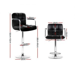 BA-K-1055A-BKX2: Makeup Chairs & Stools. The Makeup Mirror Co.   AfterPay Today   Free Shipping