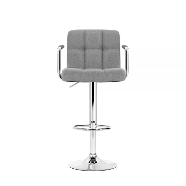 BA-K-1055A-FABRIC-GYX2: Makeup Chairs & Stools. The Makeup Mirror Co.   AfterPay Today   Free Shipping
