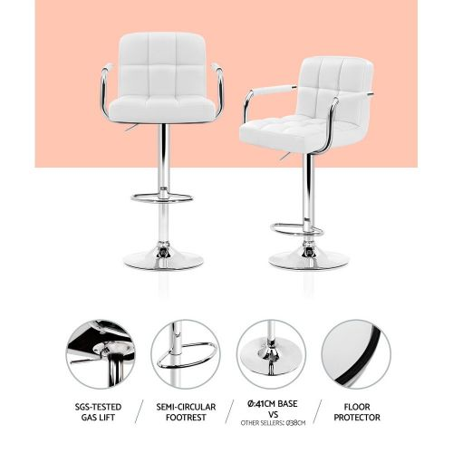 BA-K-1055A-WHX2: Makeup Chairs & Stools. The Makeup Mirror Co.   AfterPay Today   Free Shipping