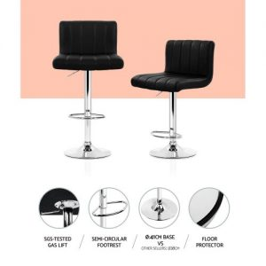 BA-K-1185-BKX2: Makeup Chairs & Stools. The Makeup Mirror Co. | AfterPay Today | Free Shipping