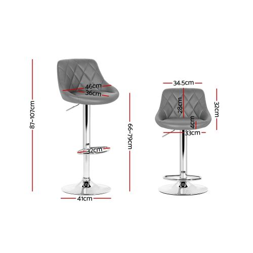 BA-K-704-GYX2: Makeup Chairs & Stools. The Makeup Mirror Co.   AfterPay Today   Free Shipping