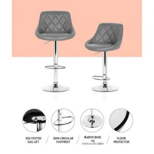 BA-K-704-GYX2: Makeup Chairs & Stools. The Makeup Mirror Co. | AfterPay Today | Free Shipping