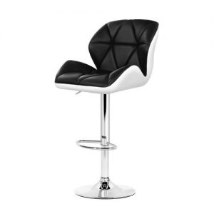 BA-K-717A-BK-WHX2: Makeup Chairs & Stools. The Makeup Mirror Co.   AfterPay Today   Free Shipping