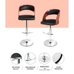BA-TW-8065-BK: Makeup Chairs & Stools. The Makeup Mirror Co.   AfterPay Today   Free Shipping