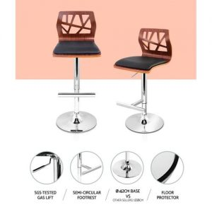 BA-TW-8089-BKX2: Makeup Chairs & Stools. The Makeup Mirror Co. | AfterPay Today | Free Shipping