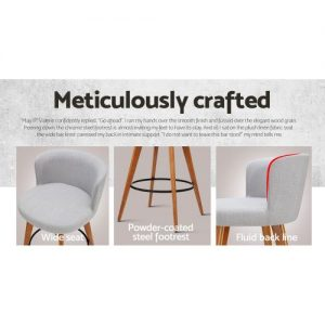 BA-TW-8126-LI-GYX2: Makeup Chairs & Stools. The Makeup Mirror Co.   AfterPay Today   Free Shipping
