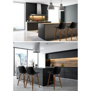 BA-TW-8206-BKX2: Makeup Chairs & Stools. The Makeup Mirror Co. | AfterPay Today | Free Shipping