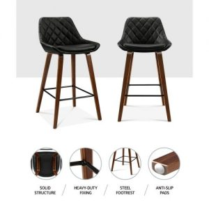 BA-TW-8206-BKX2: Makeup Chairs & Stools. The Makeup Mirror Co.   AfterPay Today   Free Shipping