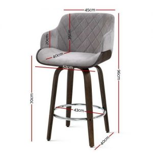 BA-TW-8908-GY: Makeup Chairs & Stools. The Makeup Mirror Co.   AfterPay Today   Free Shipping