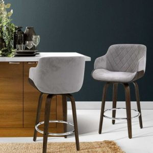 BA-TW-8908-GY: Makeup Chairs & Stools. The Makeup Mirror Co. | AfterPay Today | Free Shipping