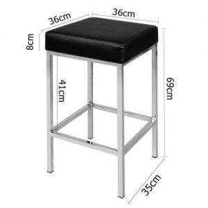 BA-TW-9076-BKX2: Makeup Chairs & Stools. The Makeup Mirror Co.   AfterPay Today   Free Shipping
