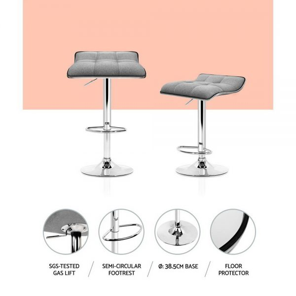 BA-TW-NEW1002A-GYX2: Makeup Chairs & Stools. The Makeup Mirror Co.   AfterPay Today   Free Shipping