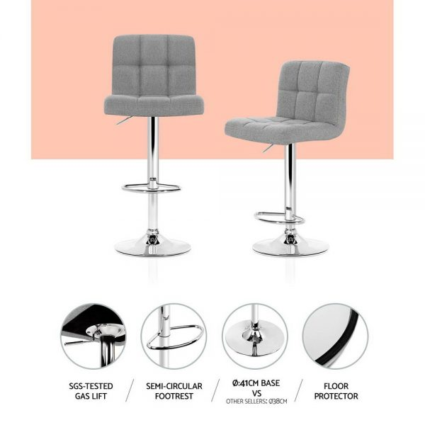 BA-TW-NEW1055-GYX2: Makeup Chairs & Stools. The Makeup Mirror Co. | AfterPay Today | Free Shipping