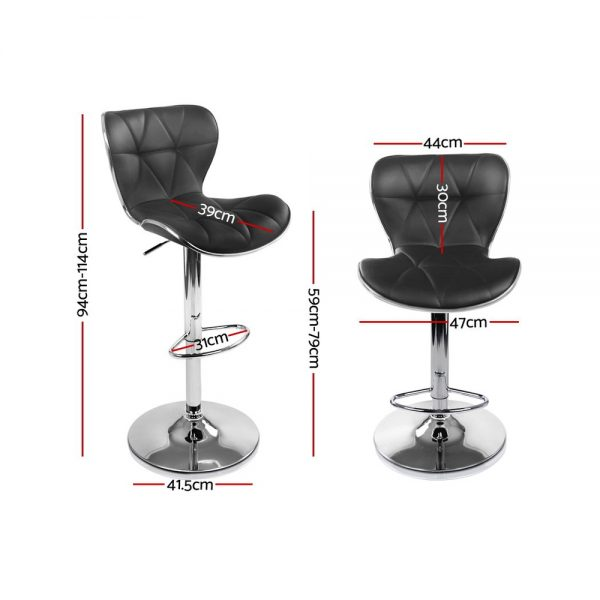 BA-TW-NEW4045-BKX2: Makeup Chairs & Stools. The Makeup Mirror Co. | AfterPay Today | Free Shipping