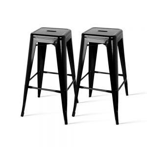 BA-TW-NEW5046B-BKX2: Makeup Chairs & Stools. The Makeup Mirror Co. | AfterPay Today | Free Shipping