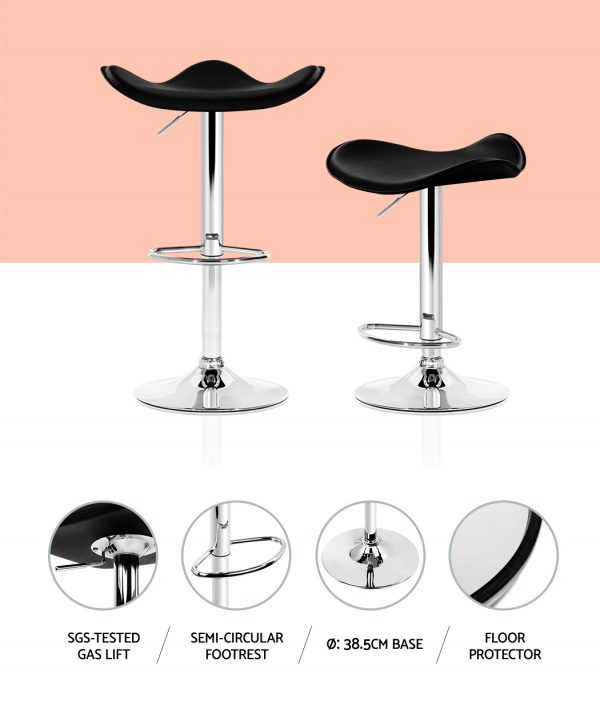 BA-TW-NEWT1001-BKX2: Makeup Chairs & Stools. The Makeup Mirror Co. | AfterPay Today | Free Shipping
