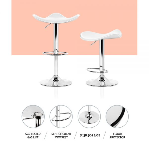 BA-TW-NEWT1001-WHX2: Makeup Chairs & Stools. The Makeup Mirror Co. | AfterPay Today | Free Shipping