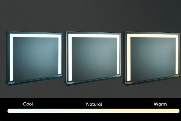 XL Makeup Mirror With LED Strip Lighting