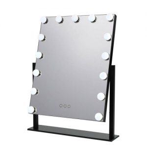 MM-E-STAND-4050-BK: Hollywood Makeup Mirror with Lights. The Makeup Mirror Co. | AfterPay Today | Free Shipping