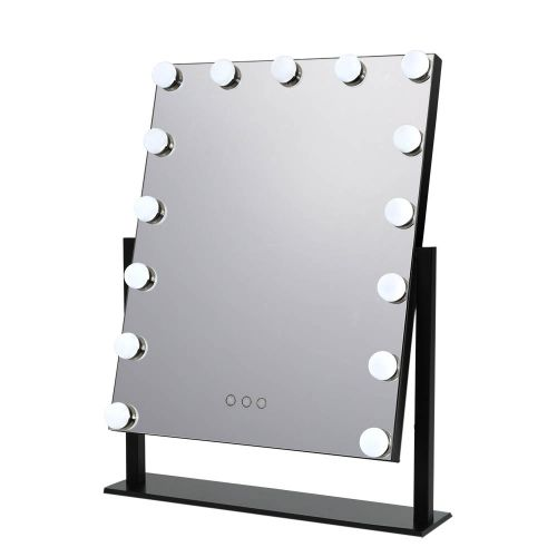 MM-E-STAND-4050-BK: Hollywood Makeup Mirror with Lights. The Makeup Mirror Co.   AfterPay Today   Free Shipping