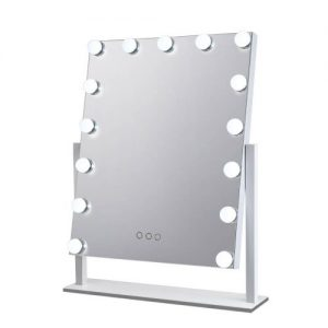 MM-E-STAND-4050-WH: Hollywood Makeup Mirror with Lights. The Makeup Mirror Co. | AfterPay Today | Free Shipping