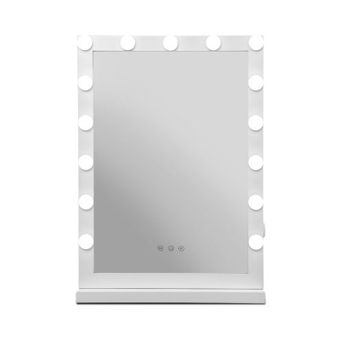 MM-FRAME-4361-WH: Hollywood Makeup Mirror with Lights. The Makeup Mirror Co. | AfterPay Today | Free Shipping
