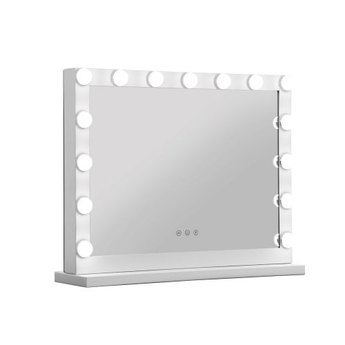 MM-FRAME-5846-WH: Hollywood Makeup Mirror with Lights. The Makeup Mirror Co. | AfterPay Today | Free Shipping