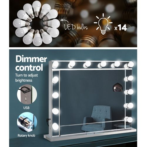 MM-FRAME-6580-MI: Hollywood Makeup Mirror with Lights. The Makeup Mirror Co. | AfterPay Today | Free Shipping
