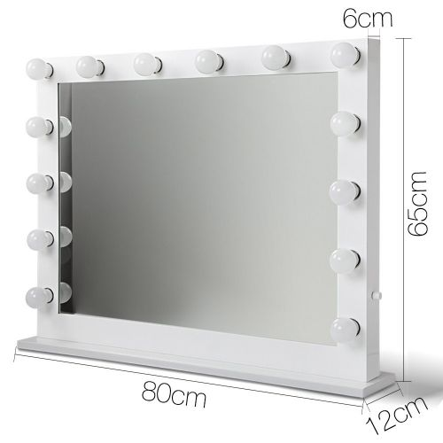 MM-FRAME-6580-WH: Hollywood Makeup Mirror with Lights. The Makeup Mirror Co.   AfterPay Today   Free Shipping