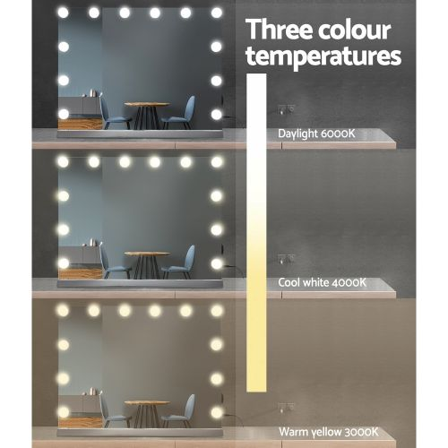 MM-FRAMELS-5846-GS: Hollywood Makeup Mirror with Lights. The Makeup Mirror Co. | AfterPay Today | Free Shipping
