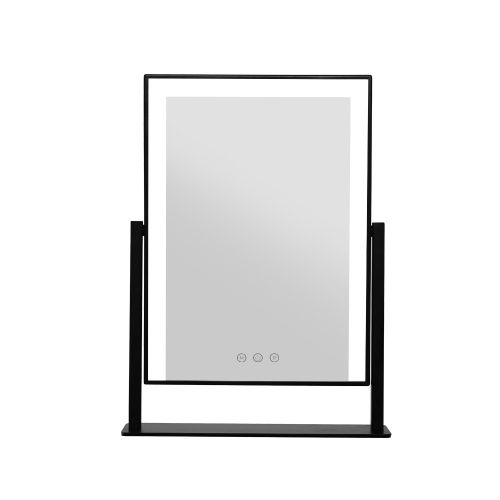 MM-STAND-2530LED-BK: LED Makeup Mirror with Lights. The Makeup Mirror Co.   AfterPay Today   Free Shipping