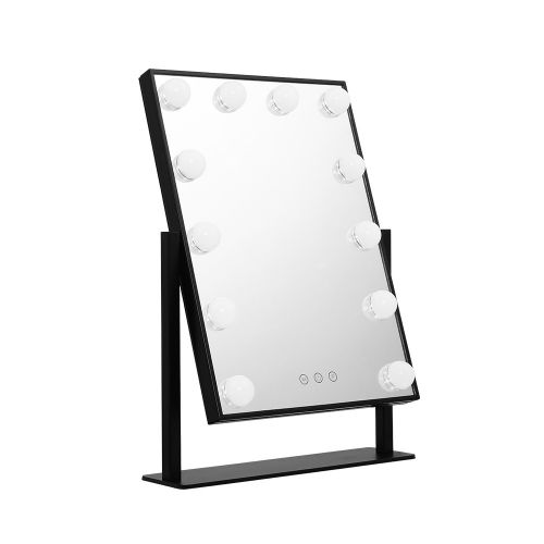 MM-STAND-FRAMELS-BK: Hollywood Makeup Mirror with Lights. The Makeup Mirror Co.   AfterPay Today   Free Shipping