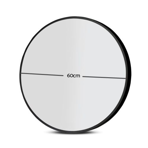 MM-WALL-ROU-BK-60: Makeup Vanity Mirror. The Makeup Mirror Co. | AfterPay Today | Free Shipping