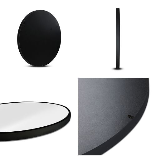 MM-WALL-ROU-BK-70: Makeup Vanity Mirror. The Makeup Mirror Co.   AfterPay Today   Free Shipping