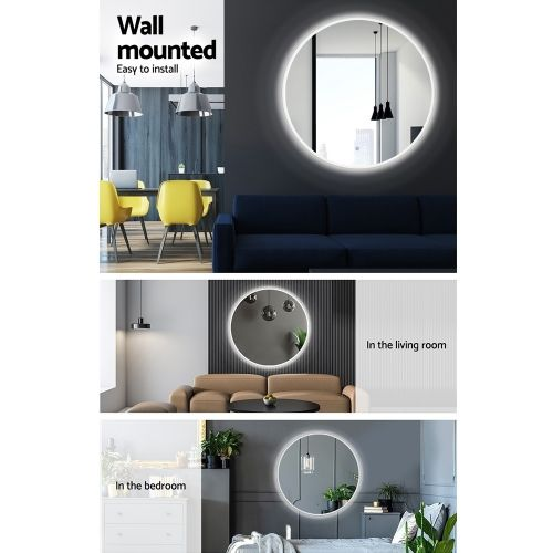 MM-WALL-ROU-LED-90: LED Makeup Mirror With Lights. The Makeup Mirror Co. | AfterPay Today | Free Shipping