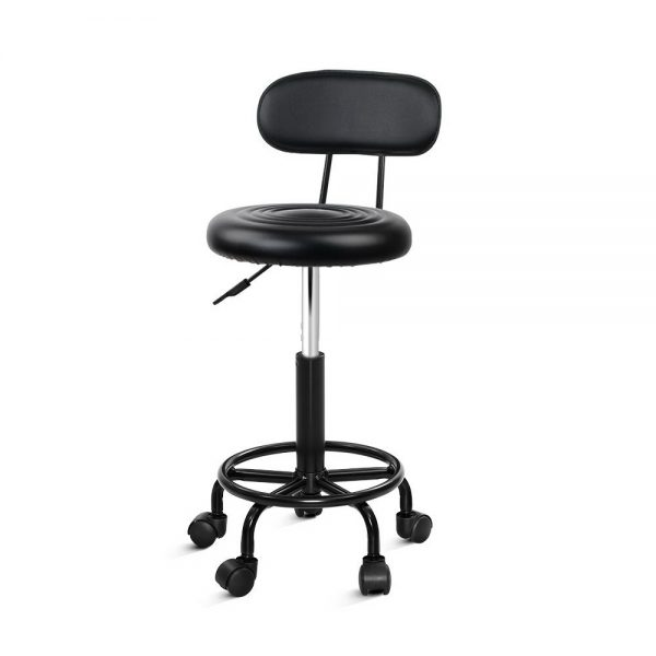 SALON-4128-NEW-BK: Makeup Chairs & Stools. The Makeup Mirror Co. | AfterPay Today | Free Shipping