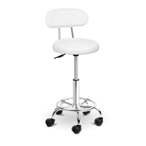 SALON-4128-WH: Makeup Chairs & Stools. The Makeup Mirror Co.   AfterPay Today   Free Shipping