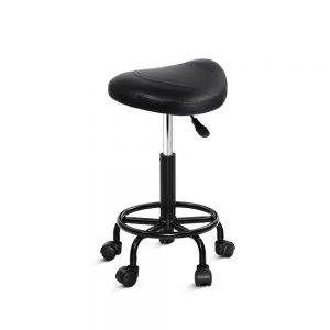 SALON-ERG-NEW-BK: Makeup Chairs & Stools. The Makeup Mirror Co. | AfterPay Today | Free Shipping