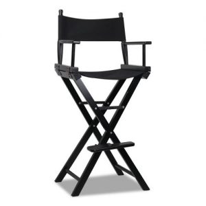 WOOD-B-TDC-6025-BK: Makeup Chairs & Stools. The Makeup Mirror Co. | AfterPay Today | Free Shipping