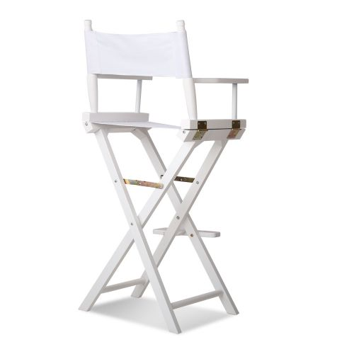 WOOD-B-TDC-6025-WH: Makeup Chairs & Stools. The Makeup Mirror Co. | AfterPay Today | Free Shipping