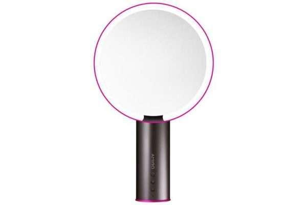AMIRO LED Lighted Smart Sensor Makeup Mirror-Hot Pink - Makeup Mirror Co. Australia
