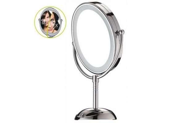 Conair CBE51LEDA Makeup Beauty Mirror Double Sided LED Lighted/Corded Cordless - Makeup Mirror Co. Australia